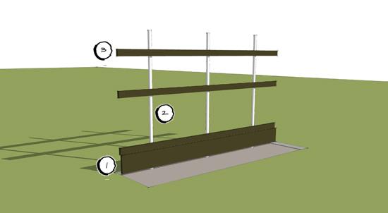 modern fences use your imagination life of an architect. Black Bedroom Furniture Sets. Home Design Ideas