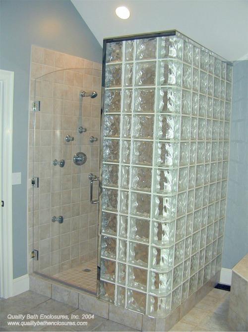 Glass Block Shower01