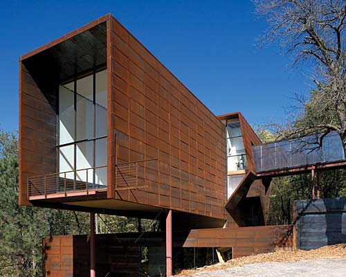 Corten On Pinterest Steel Metal Roof And Architects