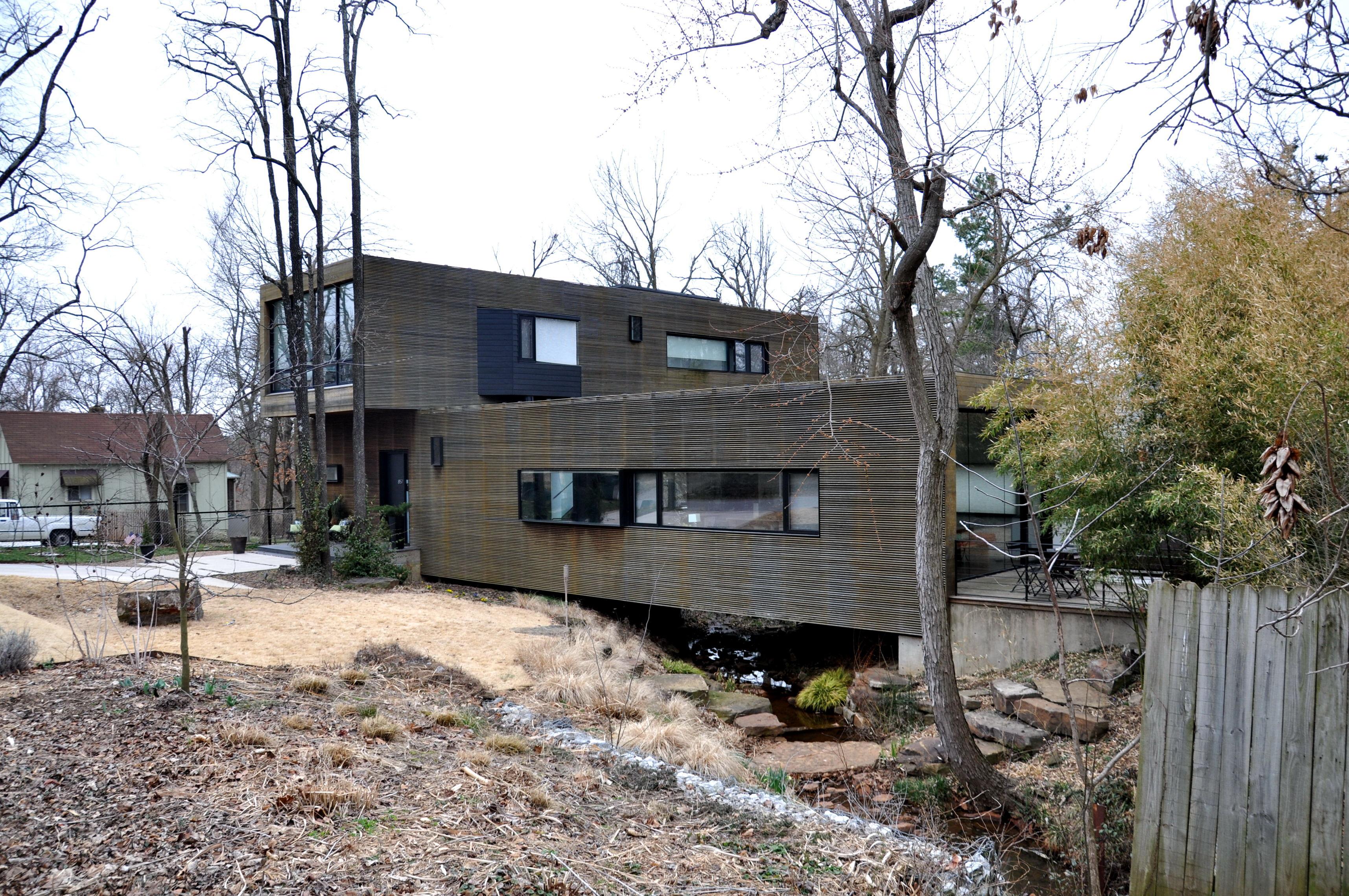 Modern house friendly neighbor life of an architect for Modern house ark