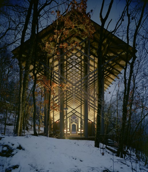 thorncrown chapel fay jones