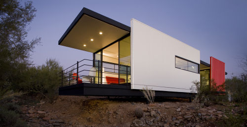 Small Not Simple Minimalist Modern Modular Home Design Designs Small