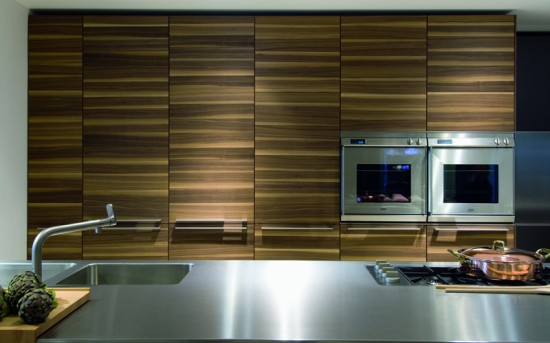 Top 10 modern kitchen design trends life of an architect for Stainless steel countertop with integral sink