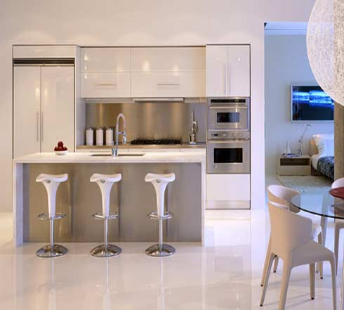 Kitchen design by BBA Design Consultants