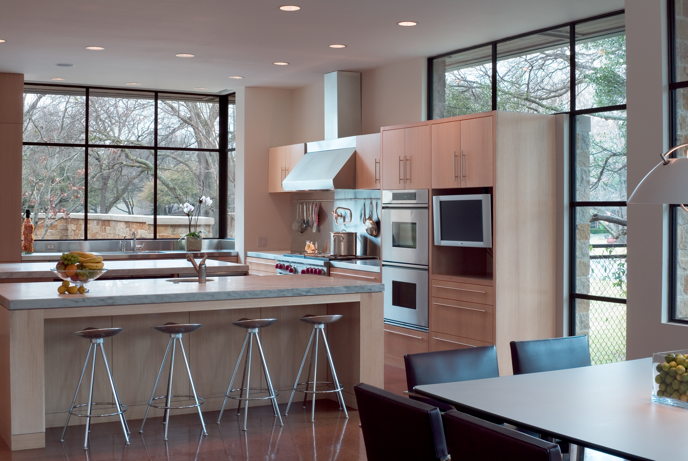 Top 10 modern kitchen design trends life of an architect for Casual kitchen design ideas