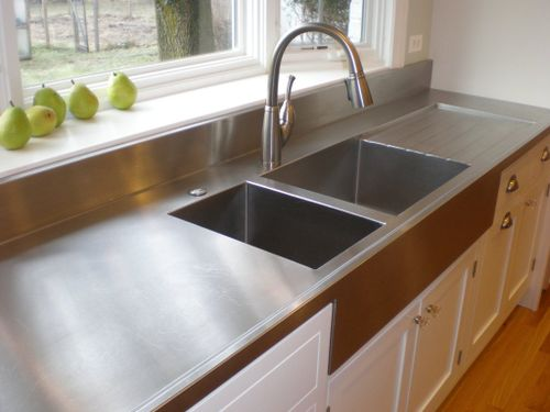 Stainless Steel Kitchen Top With