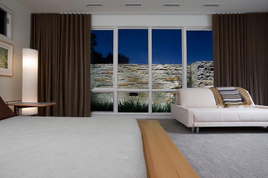 drystack stone modern interior