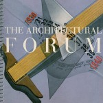 Cover of October 1940 The Architectural Forum Magazine