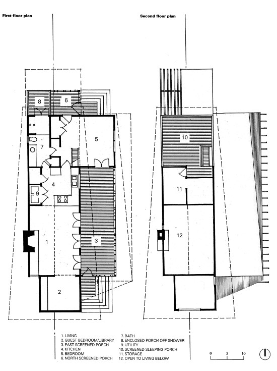 Mockebee Coker Kennedy House plan drawings