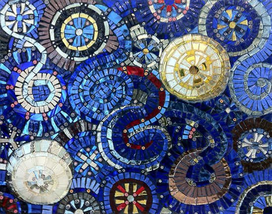 Mosaics on pinterest mosaic designs outdoor showers and Mosaic tile wall designs