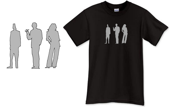 Architectural Scale Figures T Shirt
