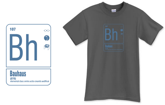 Bh Bauhaus Element T Shirt from Life of an Architect