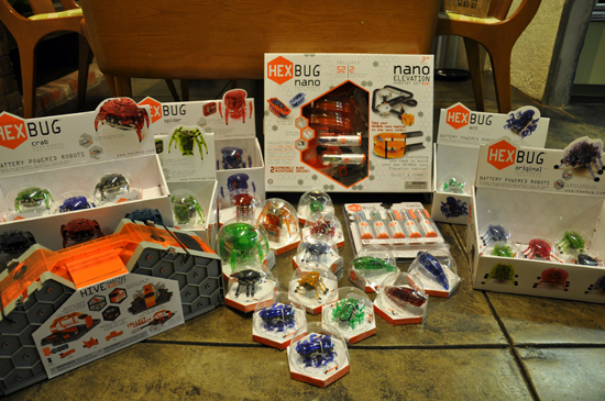 Hexbug Goodies - courtesy of Bob Mimlitch