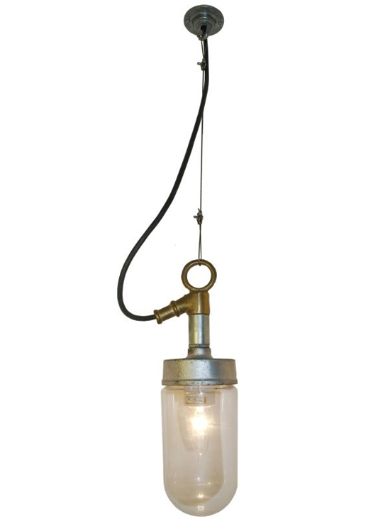 7679 well glass pendant fitting from davey lighting limited