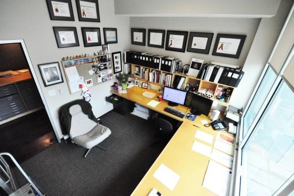 Architect Bob Borson's office
