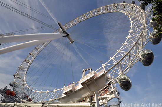 London Eye, picture by Dallas Architect Bob Borson