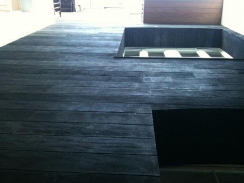 Burnt Decking and Cladding from Exterpark