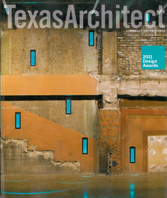 Texas Architect Sept Oct Issue