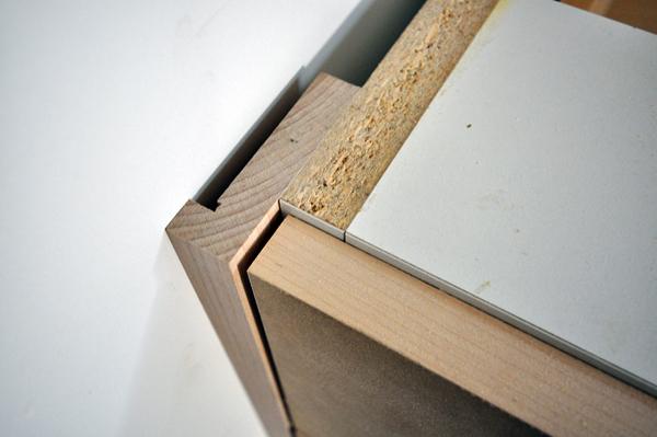 Cabinet Corner detail