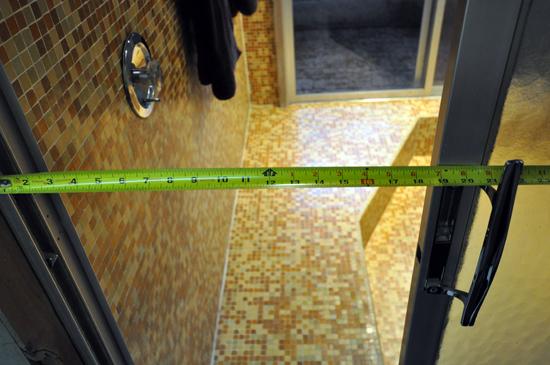 Shower Entry Door