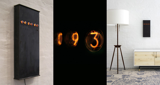 Nixie Wall clock from BDDW