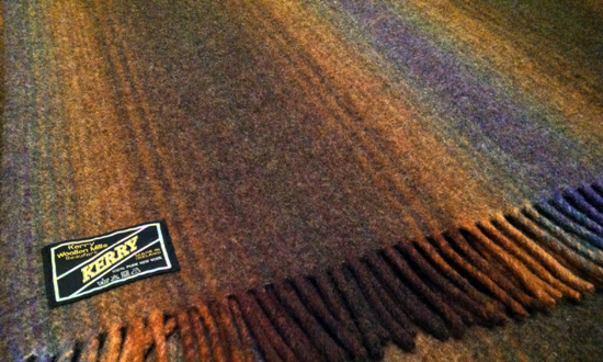 Kerry Woollen Mills Blanket
