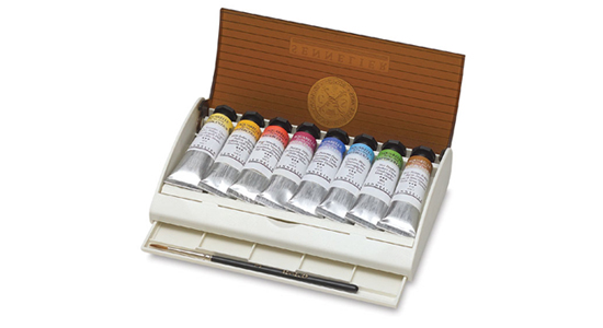 Sennelier Watercolor Travel Box 8 Tubes