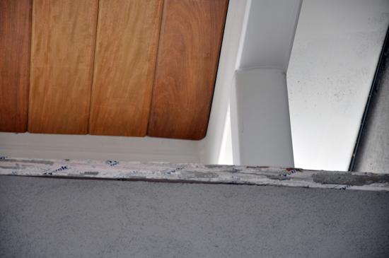 Wood Ceiling corner condition