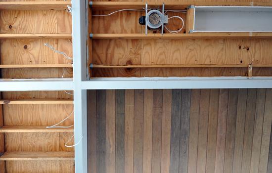 Wood Ceiling framing