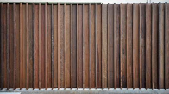 Horizontal Wood Fence Texture wave wooden fence gate design for modern house yard fence with