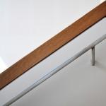modern stainless steel handrail