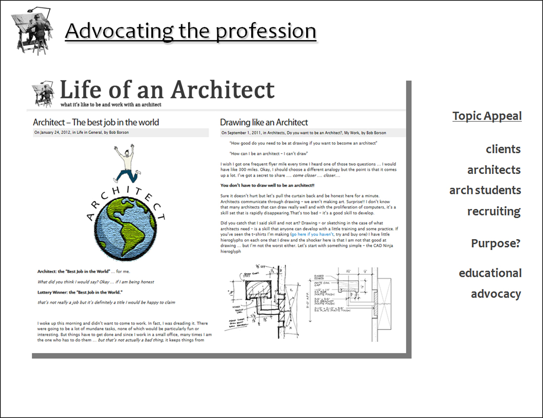 AIA National Presentation - Life of an Architect 09