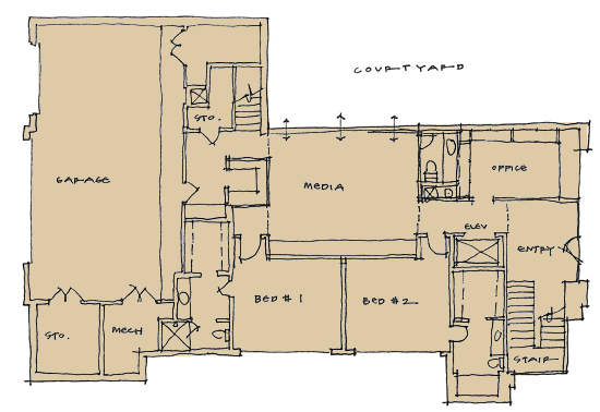 woodland lower level plan 02