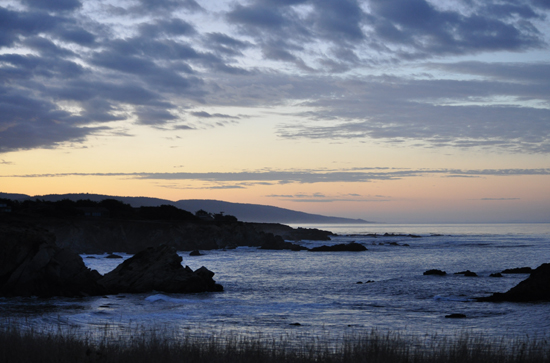 Sunrise in Sea Ranch, California