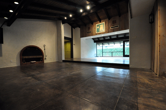Refinishing concrete floors life of an architect for Concrete floors in house