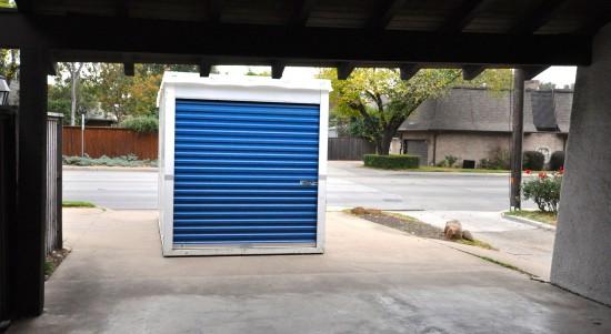 renting a storage trailer