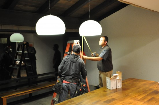 Hanging Kartell FL/Y Light Fixtures