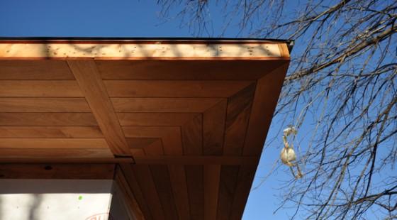Cottonwood Modern mahogahny soffit 02