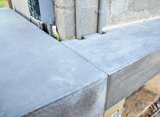 Cottonwood Modern concrete countertop at Pavilion 02
