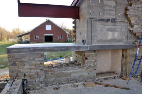 Cottonwood Modern concrete countertop at Pavilion 03
