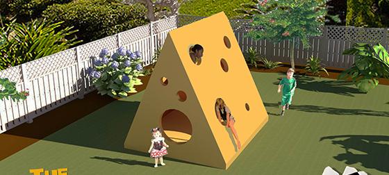 Katie Friesen playhouse