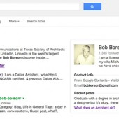 Bob Borson Google Search Results