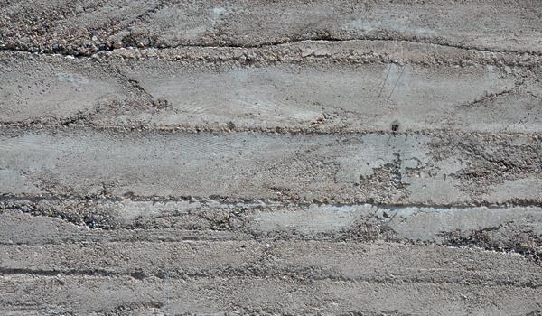 Board Formed Concrete unpainted