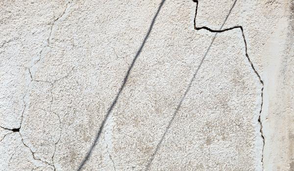 Cracked Masonry Plaster