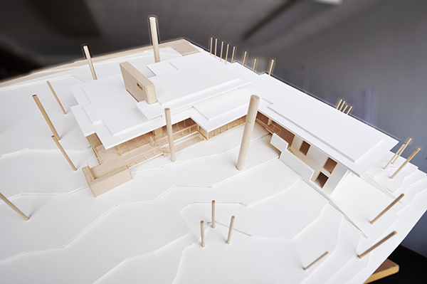 Architectural Model - Aerial View