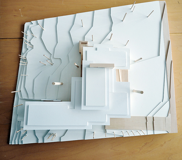 Architectural Model for the next modern residence project