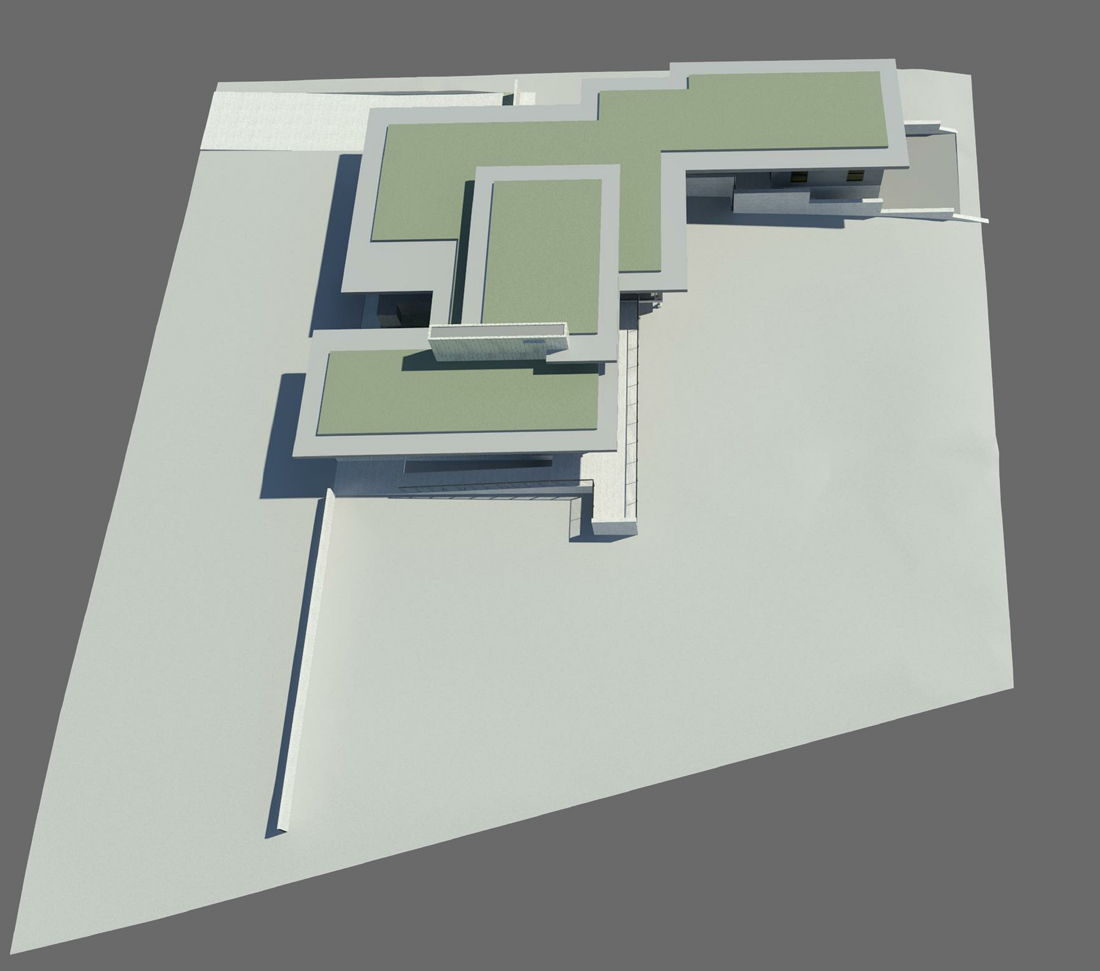 KHouse Modern Site Perspective