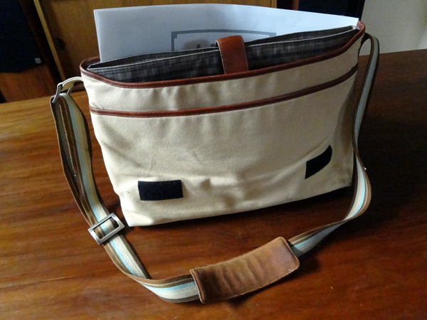 Graphic Designer Steve Jordan's Bag