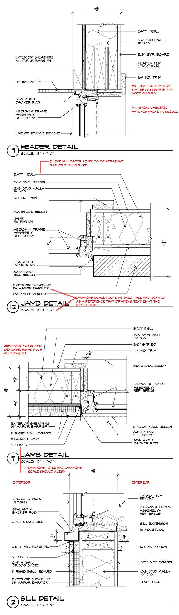 Https Khouse Modern Progress Update 03 Tree Rings Diagram Buildllcveneersdiagram01 Window Details With Redlines