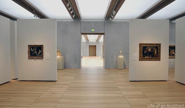 Renzo Piano Kimbell Museum Gallery 03